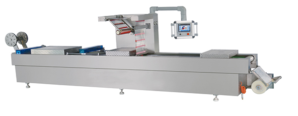 thermoforming tray packing machine