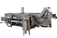 continuous deep fat fryer