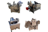 automatic feeding and discharging deep fat fryer