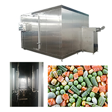 IQF Fluidized Bed Freezer