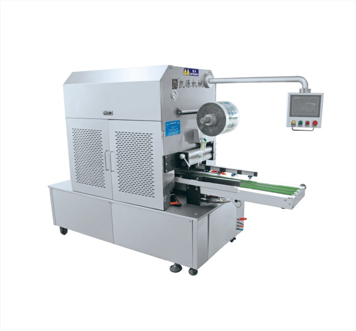 vacuum packaging machine with gas flushing
