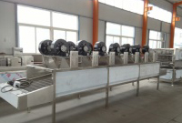 potato chips air drying machine