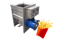 electric heating small scale deep fat fryer