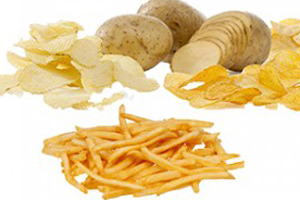 potato chips french fries