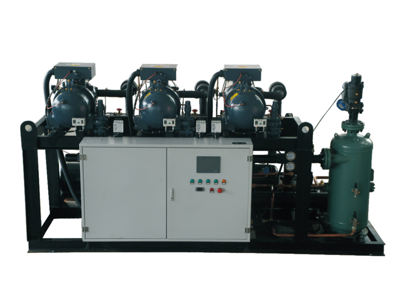 two-stage screw compressor