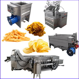 Deep Fat Fryer for Potato Products and Prepare Food Snacks