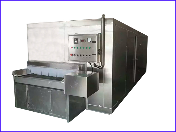 Tunnel air blast freezer