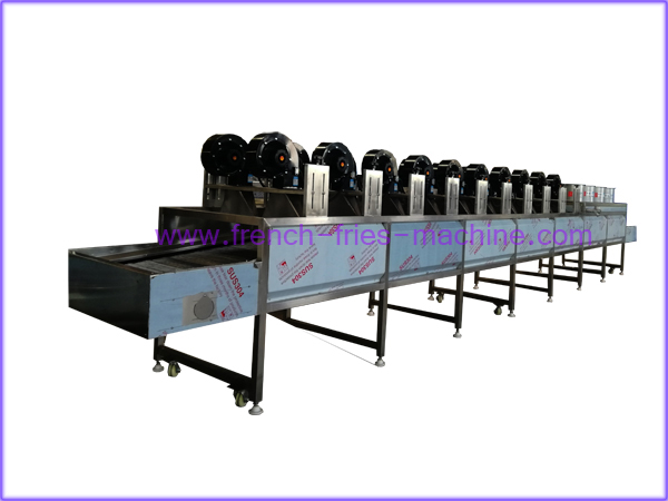 potato fries air drying dehydation machine