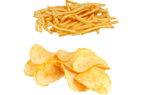 potato chips french fries process