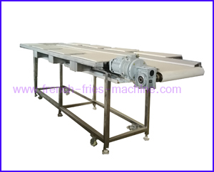 potato fries sorting and trmming table